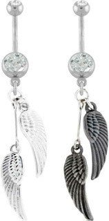 Angel Wings Belly Ring