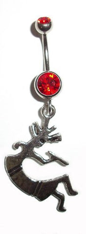 Kokopelli Belly Ring