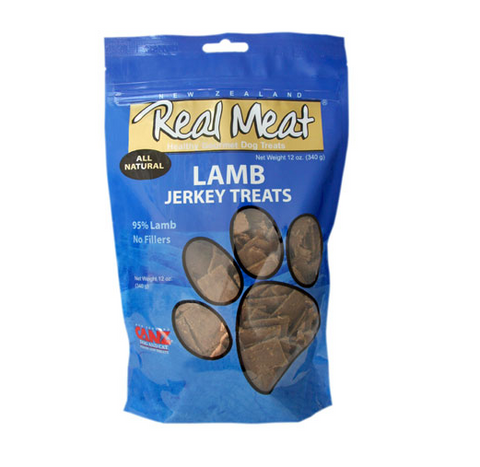 Real Meat Lamb Dog Treats 4 oz.