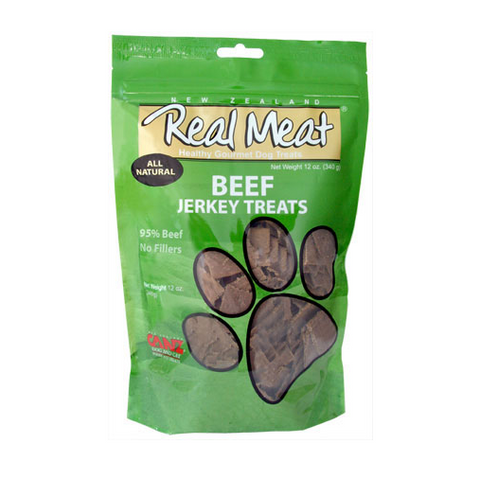 Real Meat Beef Dog Treats 4 oz.