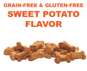8 oz. Grain & Gluten Free Sweet Potato Treats