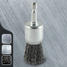 Crimped Steel Wire End Brush