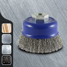 Crimped Stainless Steel Wire Cup Brush