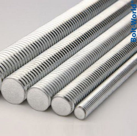 Threaded Rod DIN 975 Bright Zinc Plated