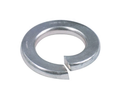 METRIC RECTANGULAR SECTION SPRING WASHERS ZINC PLATED STEEL