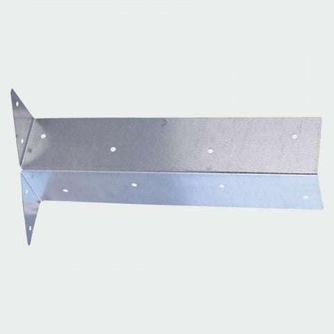 300mm - Arris Rail Brackets - Galvanised Steel