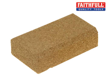Faithfull Cork Rubbing Block 115 x 65mm - FAIC18