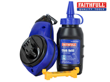 Faithfull Rapid Chalk Line Kit 30m - FAICLKIT