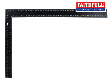 Faithfull Black Steel Roofing Square 400 x 600mm (16 x 24in) - FAICS600400