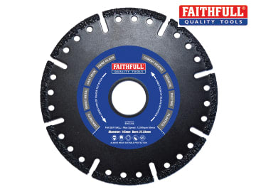 Faithfull Specialist Allcut Diamond Blade 115 x 22mm - FAIDB115ALL