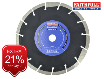 Faithfull Abrasive Diamond Blade 230 x 22.23mm - FAIDB230ABR