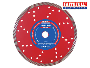 Faithfull  Turbo Cut Diamond Blade 230 x 22mm - FAIDB230TURB