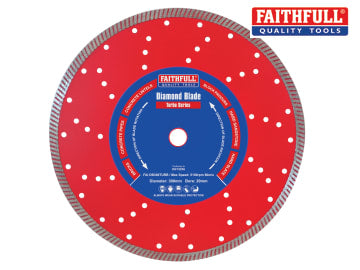 Faithfull  Turbo Cut Diamond Blade 300 x 20mm - FAIDB300TURB
