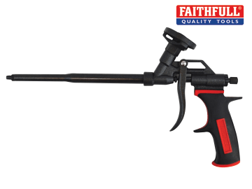 Faithfull Heavy-Duty Foam Gun (Full Non Stick Body) - FAIFOAMGUNNS