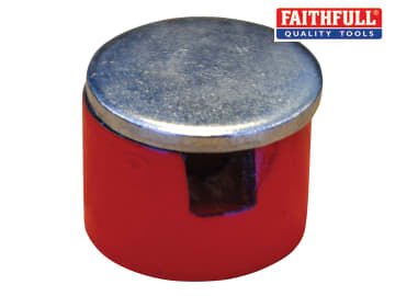 Faithfull  Button Magnet 12.5mm Power 0.7kg - FAIMAGBM125