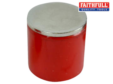 Faithfull  Deep Pot Magnet 27.0 x 25.4mm Power 5.0kg - FAIMAGDPM270
