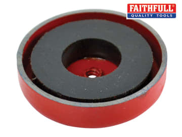 Faithfull Shallow Magnet 44.5 x 6.35mm Power 9.0kg - FAIMAGSM445