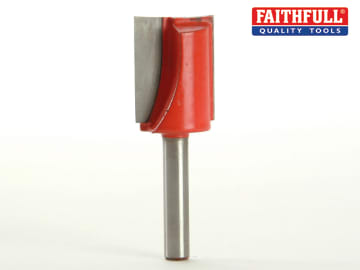 Faithfull  Router Bit TCT Two Flute 20.0 x 25mm 1/4in Shank - FAIRB228