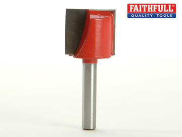 Faithfull Router Bit TCT Two Flute 22.0 x 19mm 1/4in Shank - FAIRB230