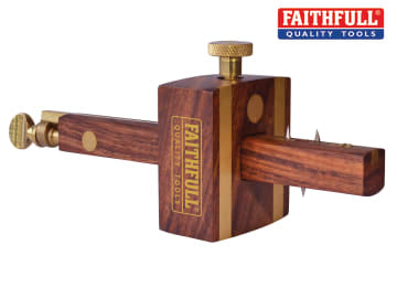 Faithfull Combination Gauge - Screw Adjustment - FAIRCOMB