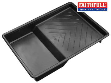 Faithfull  Plastic Roller Tray 230mm (9in) - FAIRTRAY9