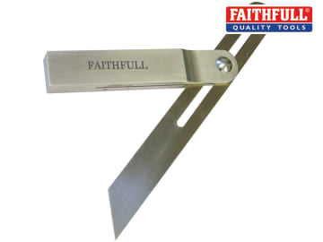 Faithfull Aluminium Sliding Bevel Stainless Steel Blade 250mm (9.3/4in) - FAISB250SS