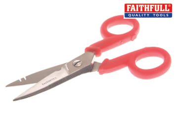 Electrician's Wire Cutting Scissors 125mm (5in) FAISCWC5