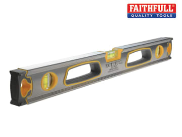 Faithfull Professional Heavy-Duty Level 3 Vial 60cm (24in) - FAISLPRO600