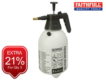 Faithfull Handheld Pressure Sprayer 2 litre - FAISPRAY2