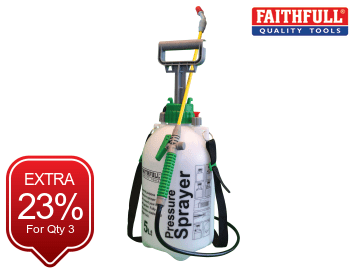 Faithfull  Pressure Sprayer 5 litre - FAISPRAY5