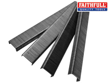 Faithfull Staples Size 3 - 10mm Pack 1000 - FAIST310MM