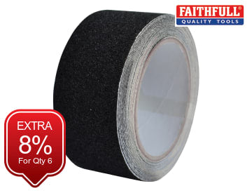 Anti-Slip Tape Black 50mm x 5m FAITAPESTB5