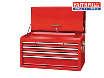 Faithfull  Toolbox Top Chest Cabinet 6 Drawer - FAITBCAB6