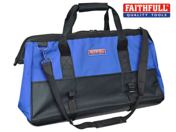 Faithfull Hard Base Tool Bag 61cm (24in) - FAITBHB24