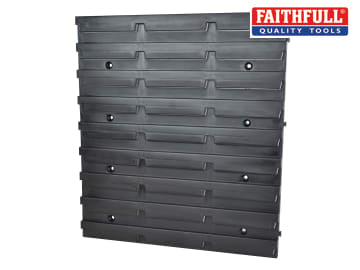 Faithfull Plastic Louvre Board For Faithfull Storage Bins - FAITBPANEL