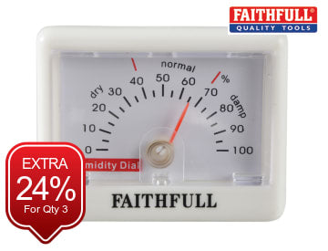 Humidity Dial (Hygrometer) FAITHHUMID