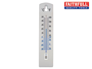 Wall Thermometer - Plastic 200mm FAITHPLASTIC