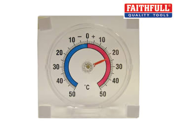 Thermometer - Stick-on Window FAITHWINDOW