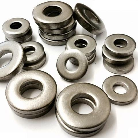 M4 Heavy Thick Flat Washers, Stainless Steel A2 (304) - DIN 7349
