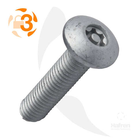 Button Head Case Hardened Steel Geomet® 500 B Thread Forming Screw