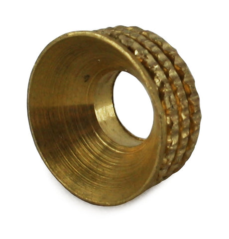 Turned Pattern Cup Washers Solid Brass