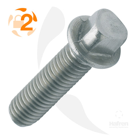 A2 Stainless Steel Tri-Head Machine Screw