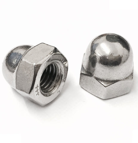 Dome Nut Stainless Steel A2 (304) DIN 1587