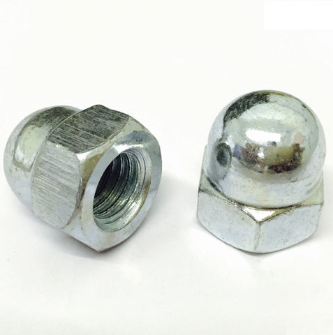 Dome Nut Bright Zinz Plated DIN 1587