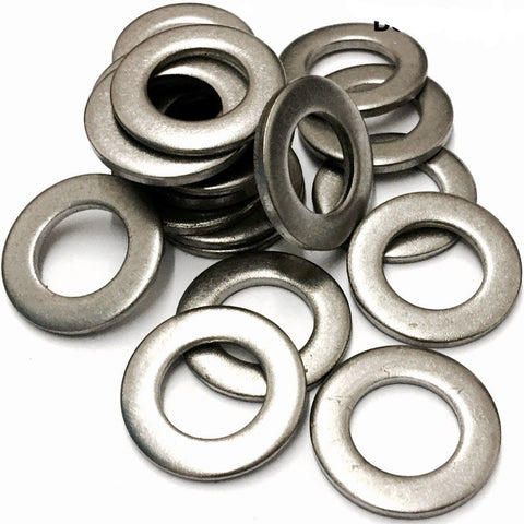 M1.6 Form A Flat Washer Stainless Steel A2 (304) DIN 125 (1.7x4.0x0.3mm)