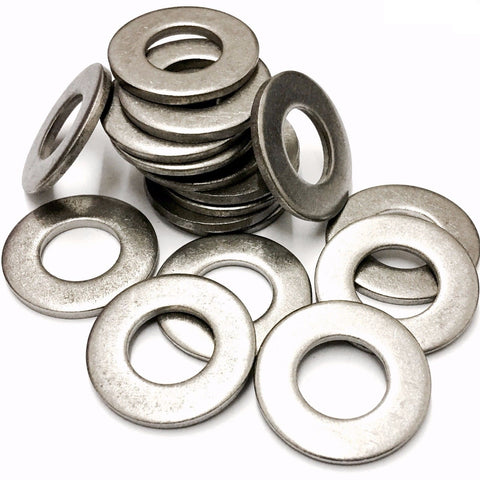 M10 Form C Flat Washer BS4320 Stainless Steel A2 (304),  M10x24x2.0