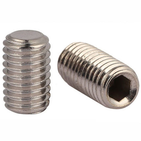 20mm A2 STAINLESS STEEL GRUB SCREW CUP POINT HEX SET SOCKET SCREWS DIN916 M20
