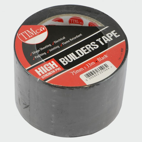 Builders Tape 33m x 75mm
