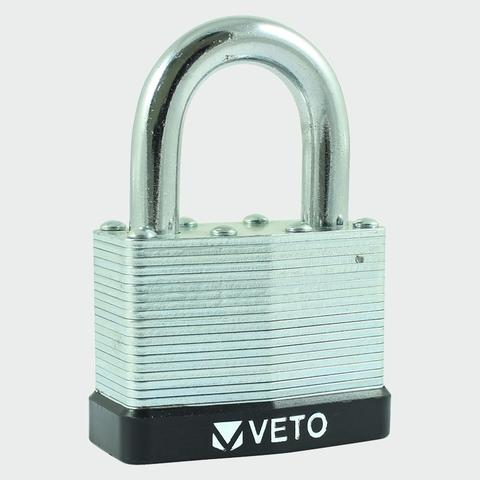 Laminated Steel Padlock - LS 50mm Long Shackle