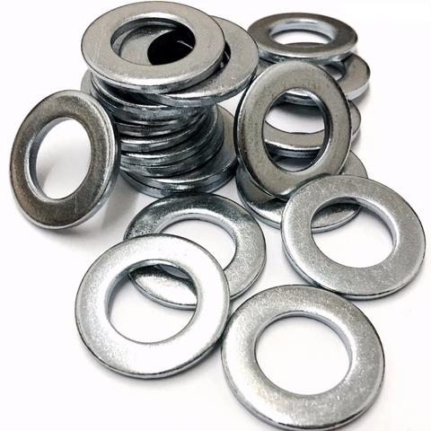 M24 Mild Steel Form A Flat Washer Bright Zinc Plated DIN 125 - 1A (25 x 44 x 4mm)